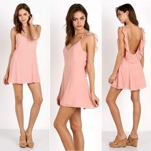 Show Me Your Mumu Delilah Swing Dress Rosebud Pink